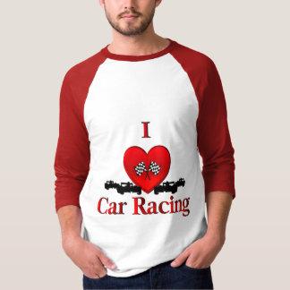 I carreras de coches del corazón remera