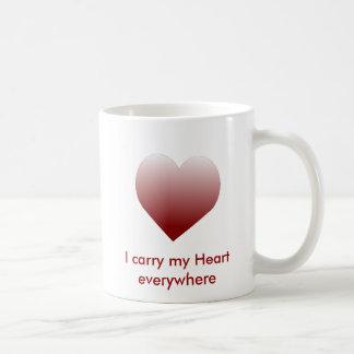 I carry my Hearteverywhere MugHeart Mug