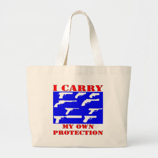 I Carry My Own Protection (Guns) Tote Bags