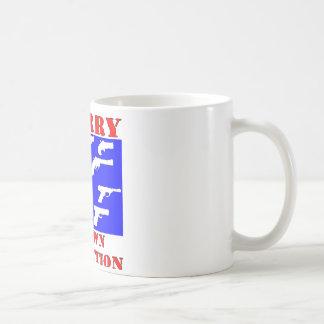 I Carry My Own Protection (Guns) Coffee Mug