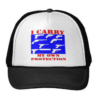 I Carry My Own Protection (Guns) Trucker Hat