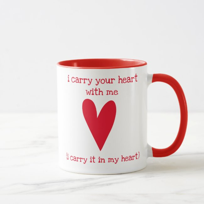 I carry your heart with me | Poem by E.E. Cummings
