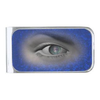 i-cash silver finish money clip