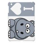 I caso del iPad de los hipopótamos del corazón min iPad Mini Cobertura