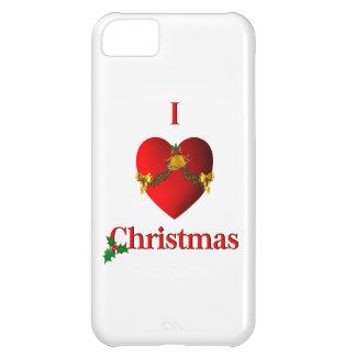 I caso del iPhone 5 del navidad del corazón