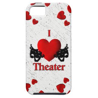I caso del iPhone 5 del teatro del corazón iPhone 5 Carcasa