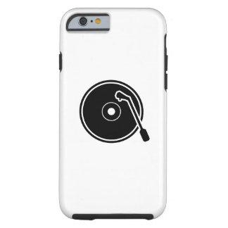 I caso del iPhone 6 del pictograma del vinilo del Funda De iPhone 6 Tough