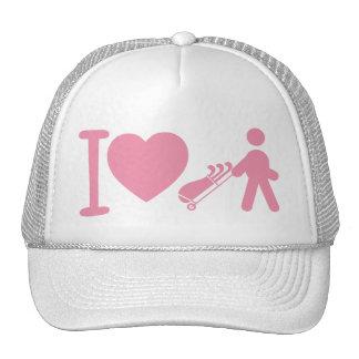 I casquillo rosado de la bola de las mujeres blanc gorro