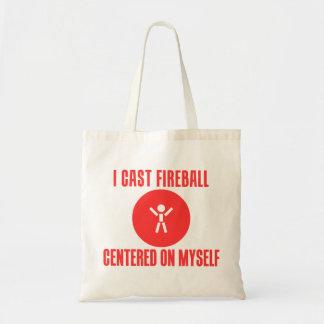 I Cast Fireball Tote Bags