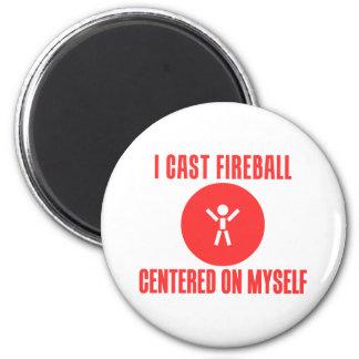I Cast Fireball Fridge Magnets