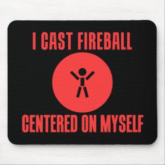 I Cast Fireball Mouse Pad