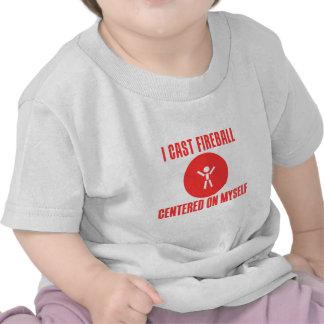 I Cast Fireball T-shirts