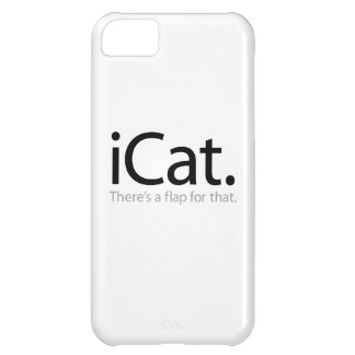 i Cat - There's a Flap For That Case For iPhone 5C