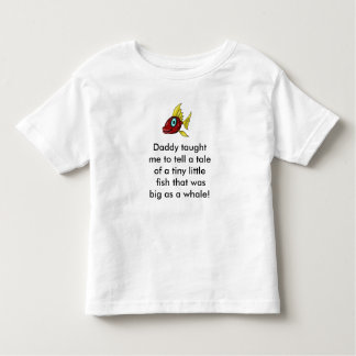 i caught a big one baby /toddler tee