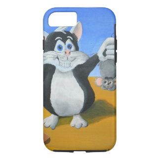 I Caught a Mouse iPhone 7 Case