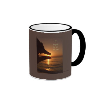 I caught the sun for you mug