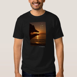I caught the sun for you tee shirt