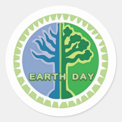 I Celebrate Earth Day Stickers