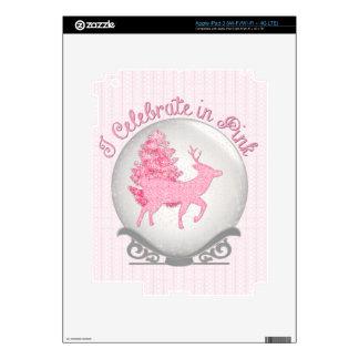 I Celebrate in Pink Skin For iPad 3