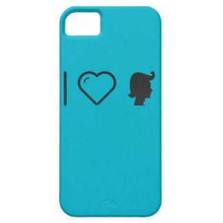 I ceras del pelo del corazón iPhone 5 fundas