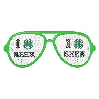 I cerveza del corazón lentes de sol