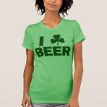 I cerveza del trébol camisetas