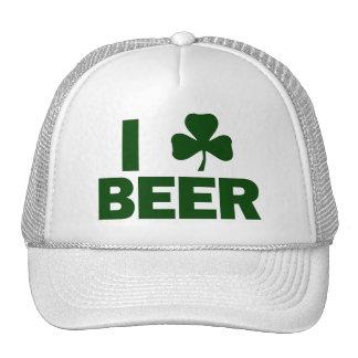 I cerveza del trébol gorras