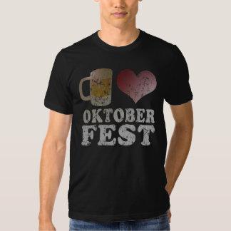 I cerveza Oktoberfest Playera