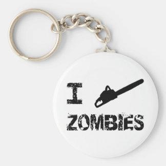 I Chainsaw Zombies Key Chains