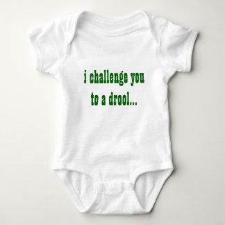 I Challenge you onsie Baby Bodysuit