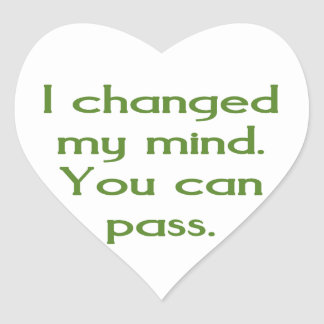I changed my mind.  You can pass. Stickers