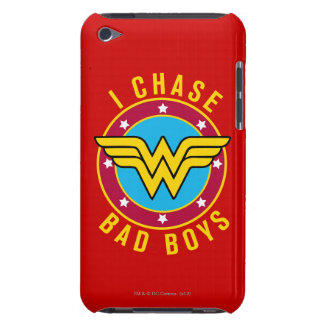 I Chase Bad Boys Barely There iPod Cases