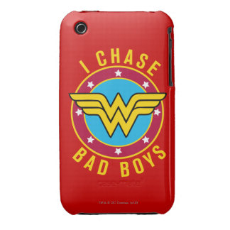 I Chase Bad Boys iPhone 3 Cases