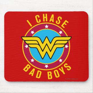 I Chase Bad Boys Mouse Pad