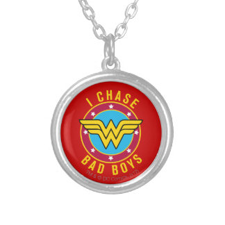 I Chase Bad Boys Personalized Necklace