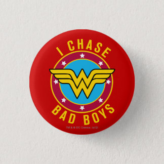 I Chase Bad Boys Pinback Button