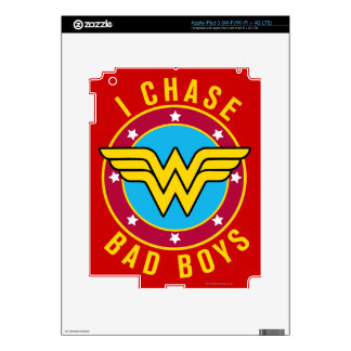 I Chase Bad Boys Decals For iPad 3