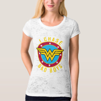 Wonder Woman Fitted Burnout T-Shirt