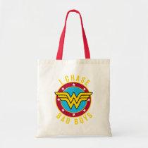 wonder woman, chase bad boys, amazon warrior, wonder woman logo, dc comics, Bag with custom graphic design