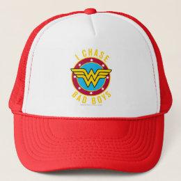 I Chase Bad Boys Trucker Hat