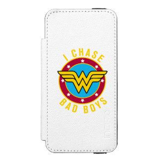 I Chase Bad Boys Incipio Watson™ iPhone 5 Wallet Case