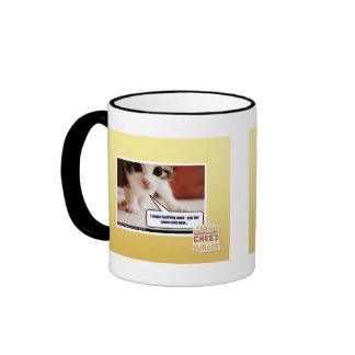 I chase bad fing awai ringer mug