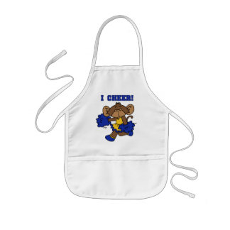 I Cheer Blue and Gold Tshirts and Gifts Aprons
