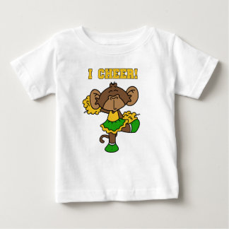 I Cheer Green and Gold T-shirts and Gifts
