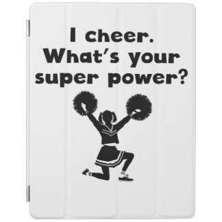 I Cheer Super Power iPad Cover