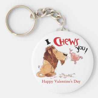 I Chews You Keychain