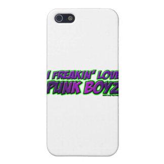 I chica PUNKY del punkrock del punk rock de los MU iPhone 5 Coberturas