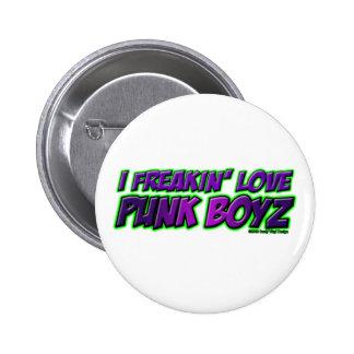 I chica PUNKY del punkrock del punk rock de los MU Pin
