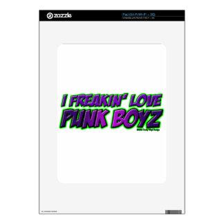 I chica PUNKY del punkrock del punk rock de los MU Skins Para iPad