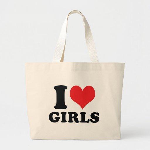 I chicas del corazón/del amor bolsas